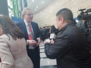 团员 Mr. Ian Butchoff 接受香港卫视采访